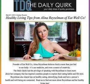 Интервью со мной — советы о здоровом образе жизни