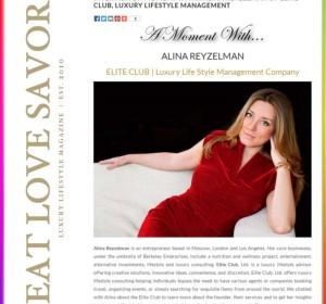 Читайте интервью со мной на сайте eatlovesavor.com