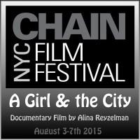 Документальный фильм Алины Рейзельман включен в программу кинофестиваля NYC FILM FESTIVAL, который пройдет в Нью-Йорке с 3 по 7 августа 2015 года.